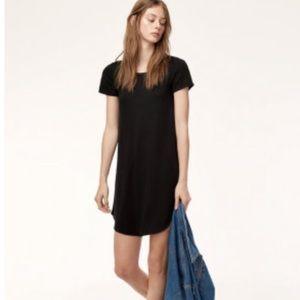 Aritzia Wilfred Free Esther Jersey T-Shirt Dress